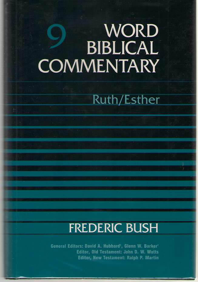 Ruth-Esther, Bush, Frederic