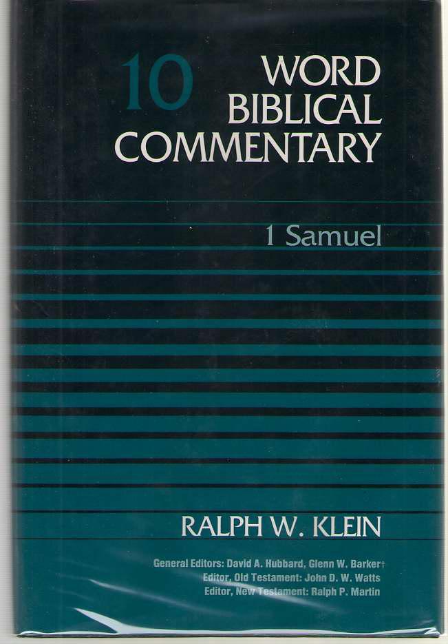 1 Samuel, Klein, Ralph W.