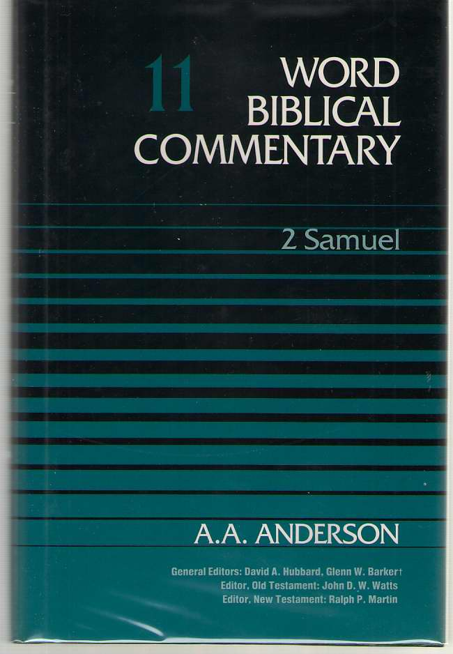 2 Samuel, Anderson, A. A.
