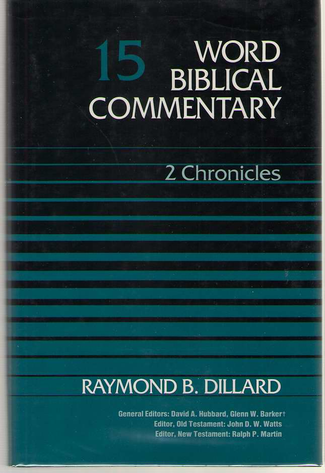2 Chronicles, Dillard, Raymond B.