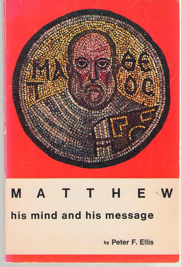 Image for Matthew  His Mind and His Message
