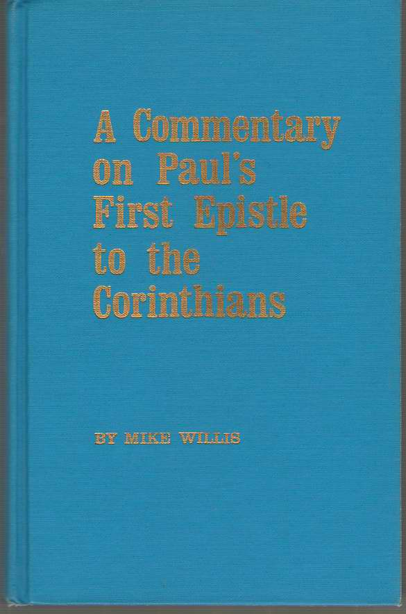 Image for A Commentary On Paul's First Epistle To The Corinthians