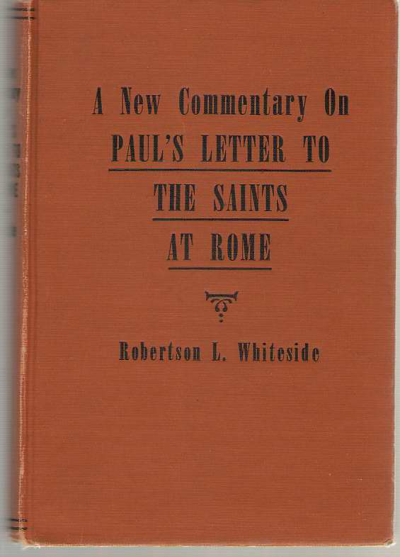 Image for A New Commentary On Paul's Letter To The Saints At Rome