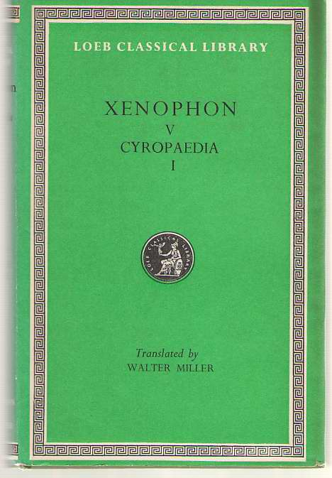 Image for Xenophon  Cyropaedia Volume V: Books 1-4