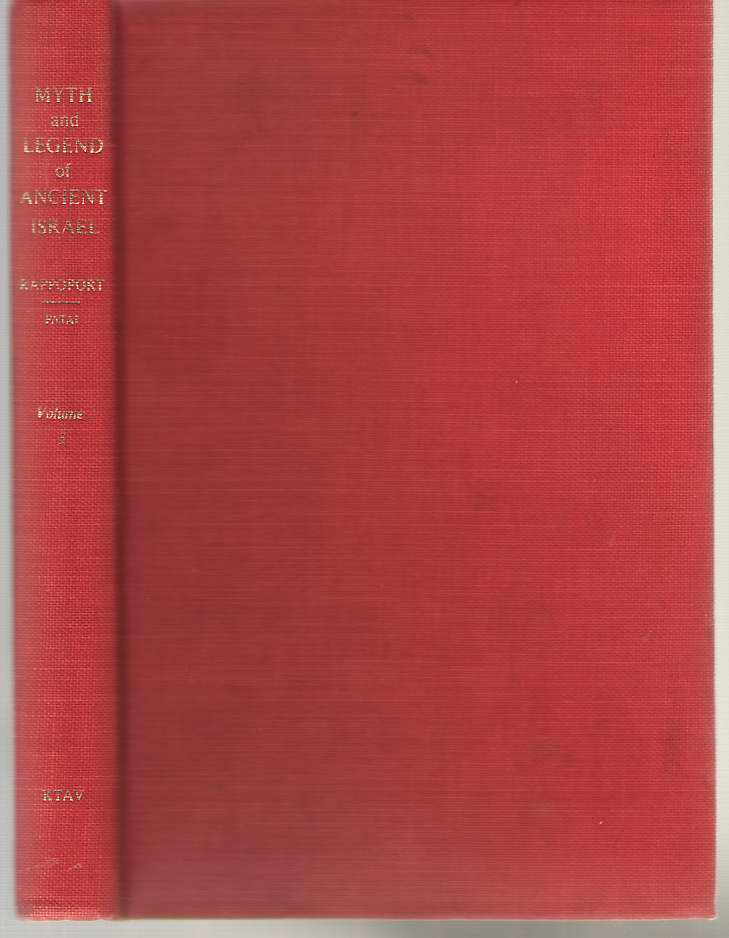Image for Myth and Legend of Ancient Israel Volume 3