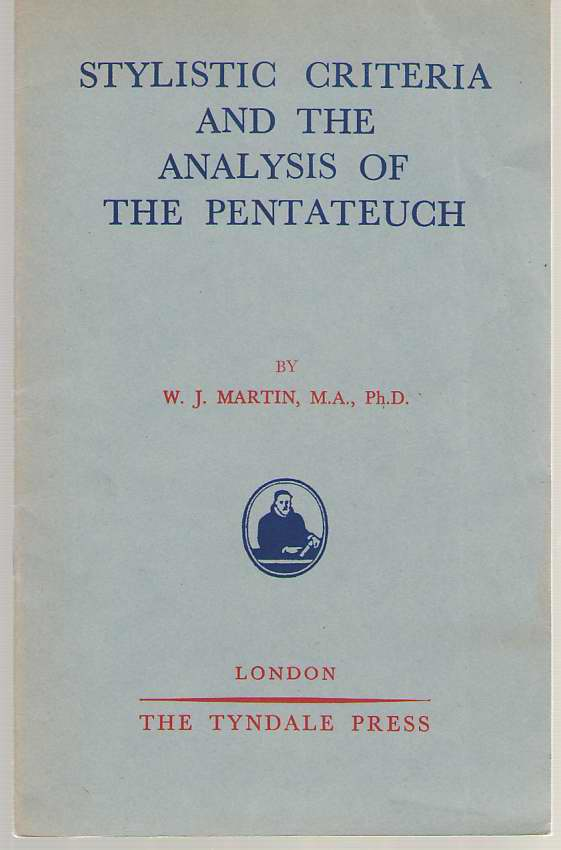 Image for Stylistic Criteria And The Analysis Of The Pentateuch