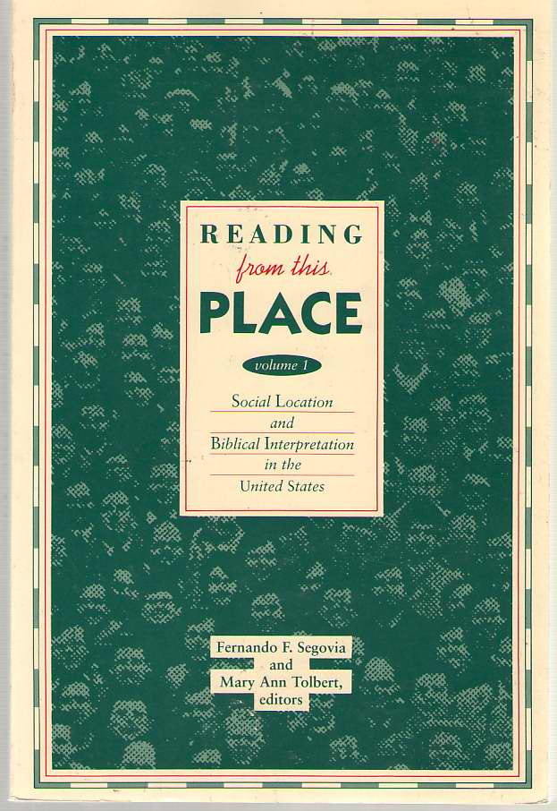 Image for Reading from this Place, Vol. 1  Social Location and Biblical Interpretation in the United States