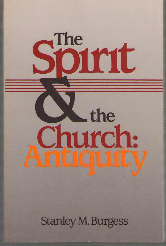 Image for The Spirit And The Church Antiquity