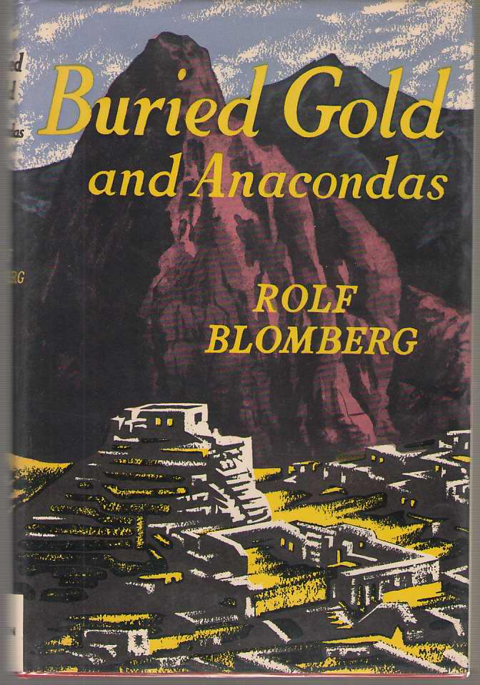 Image for Buried Gold and Anacondas