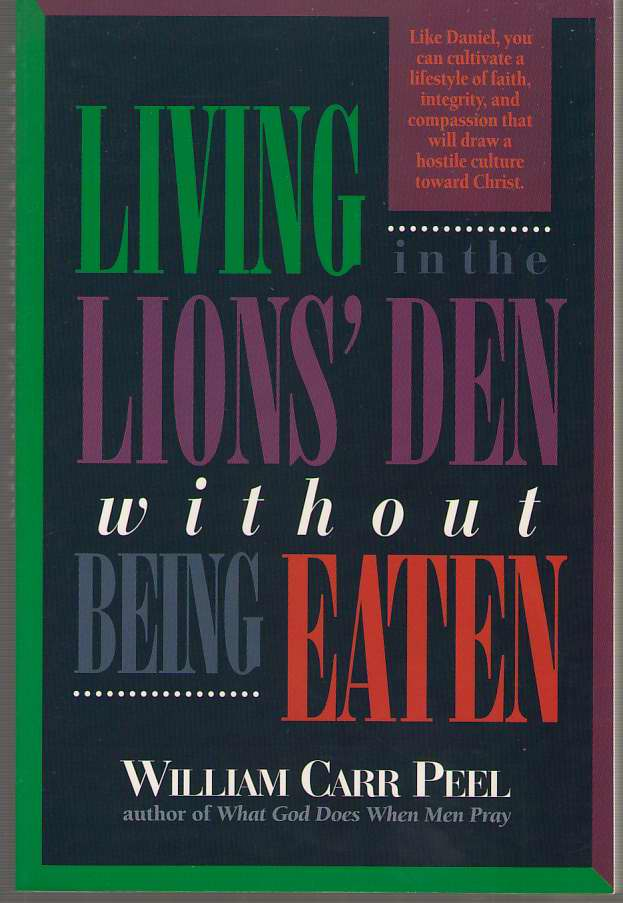 Image for Living in the Lions' Den Without Being Eaten
