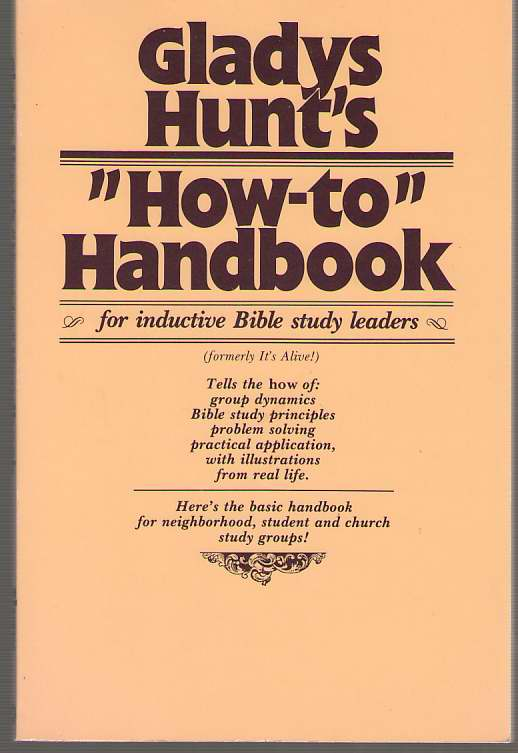 Image for How to Handbook for Inductive Bible-Study Leaders