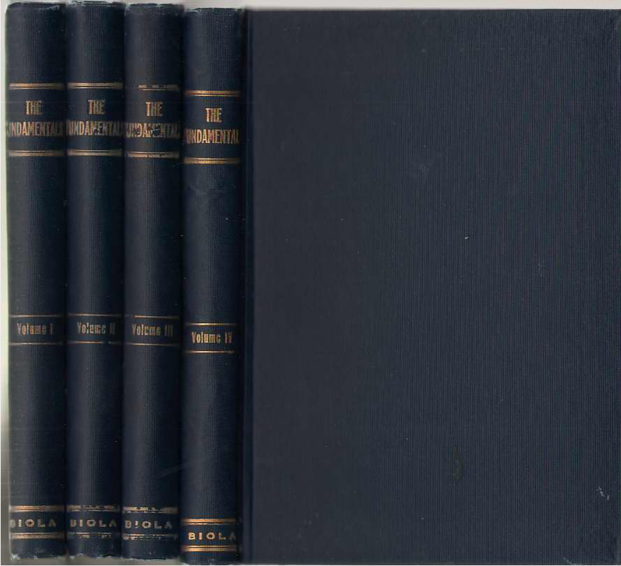 Image for The Fundamentals: A Testimony Of Truth 4 Volume Set