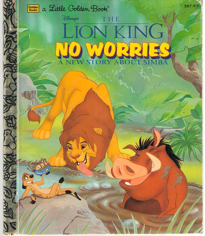 Image for Disney's The Lion King  No Worries: A New Story About Simba