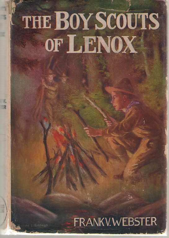 Image for The Boy Scouts Of Lenox Or, the Hike over Big Bear Mountain