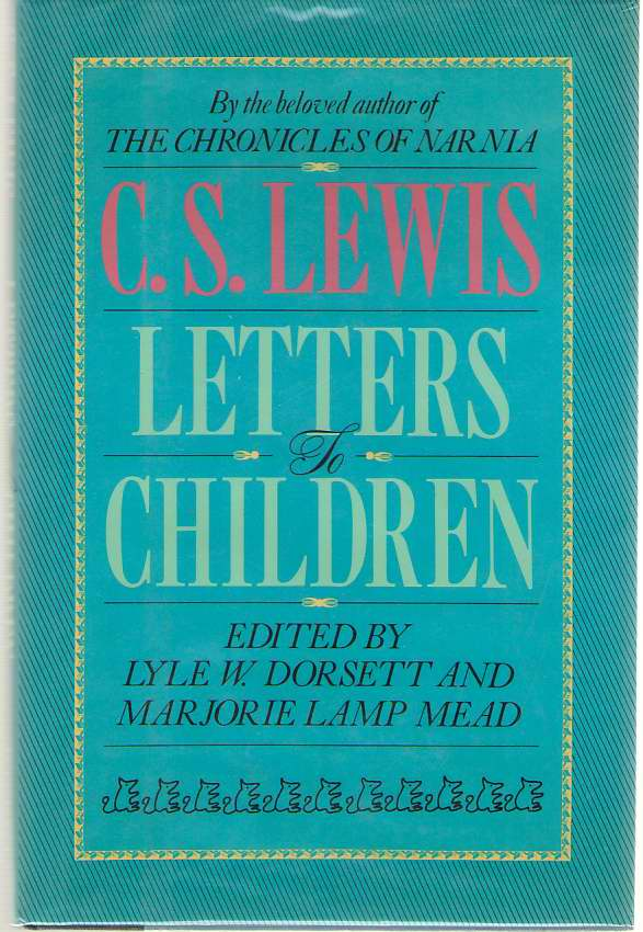 Image for C. S. Lewis  Letters to Children