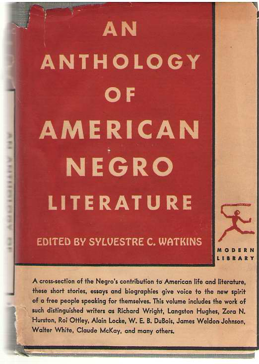 Image for Anthology Of American Negro Literature