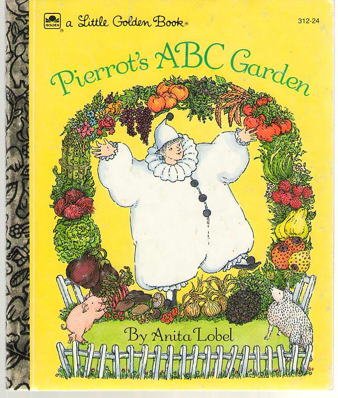 Image for Pierrot's ABC Garden  A Little Golden Book