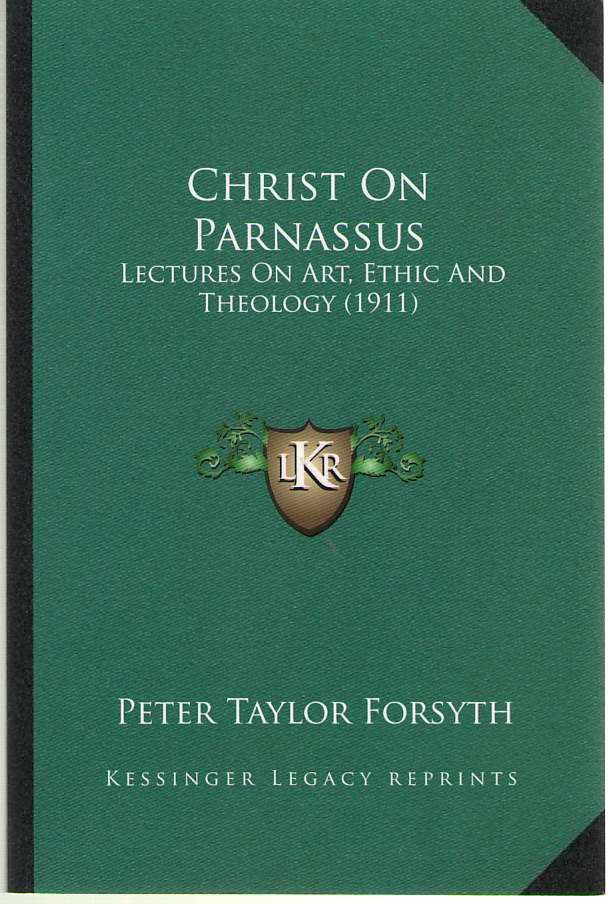 Image for Christ on Parnassus Lectures on Art, Ethic and Theology