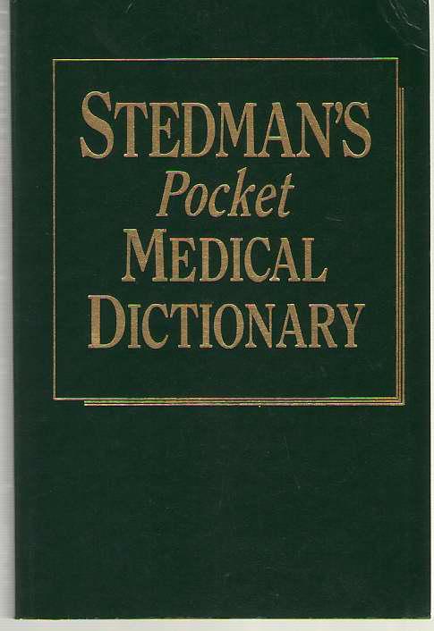 Image for Stedman's Pocket Medical Dictionary