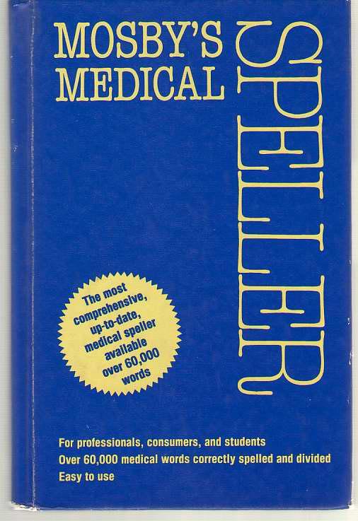 Image for Mosby's Medical Speller