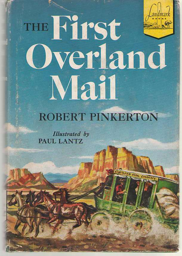 Image for The First Overland Mail
