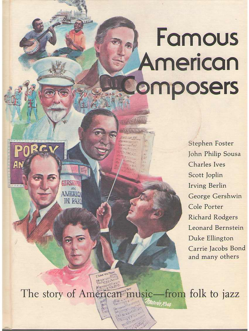 Image for Famous American Composers The Story of American Music - from Folk to Jazz