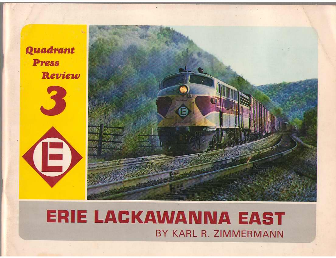 Image for Quadrant Press Review 3 Erie Lackawanna East