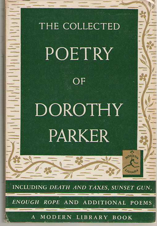 Image for The Collected Poetry Of Dorothy Parker