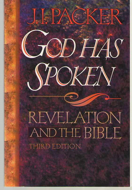 Image for God Has Spoken Revelation and the Bible