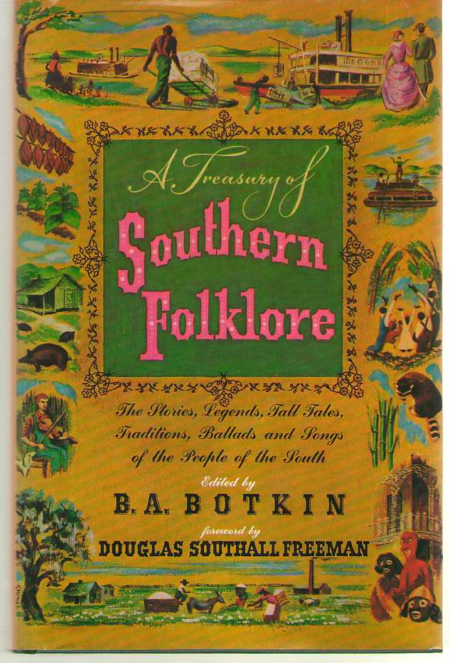 Image for A Treasury of Southern Folklore