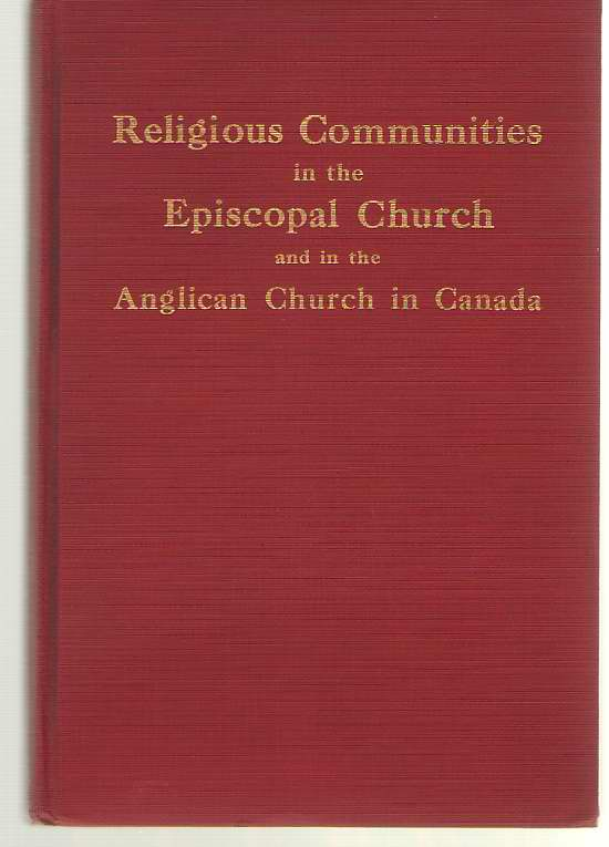 Image for Religious Communities in the American Episcopal Church and in the Anglican Church in Canada