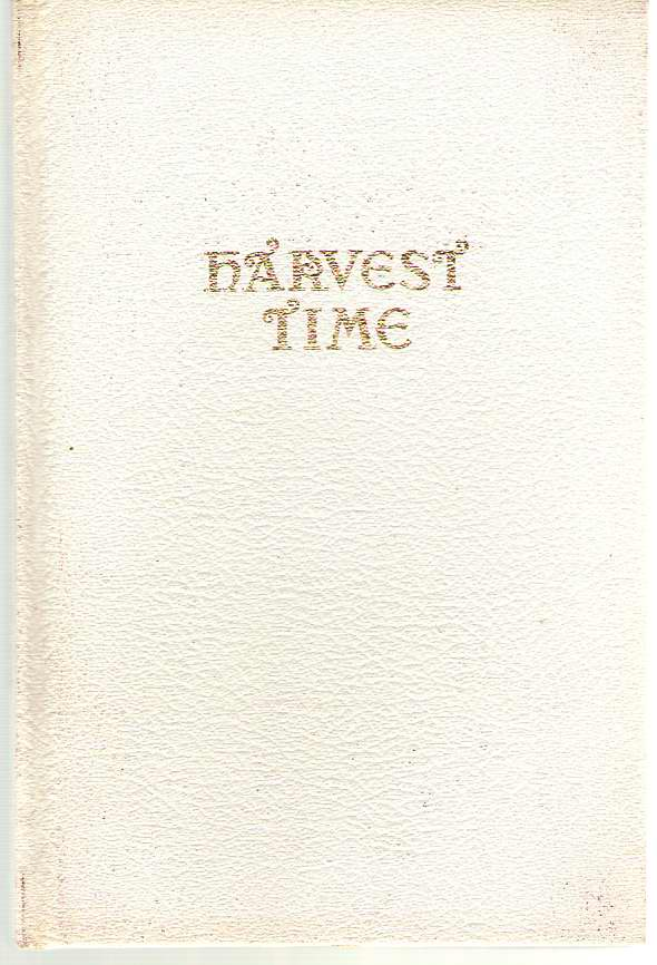 Image for Harvest Time A Bi-monthly Magazine 1964