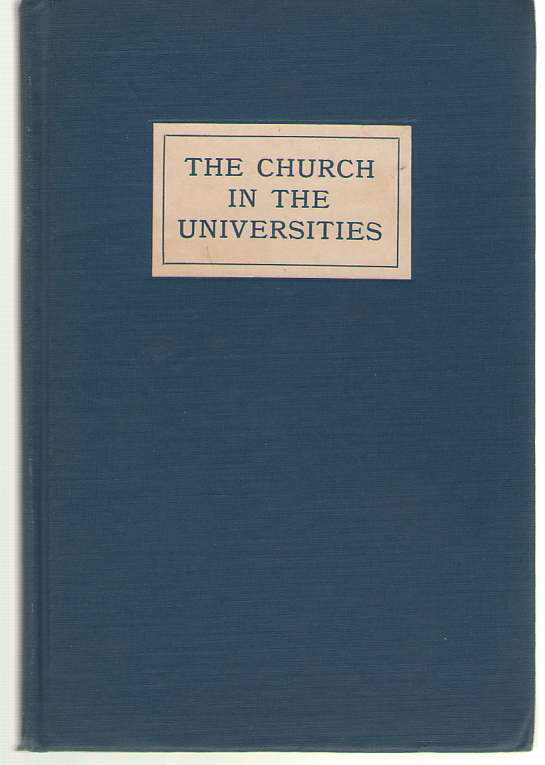 Image for The Church In The Universities