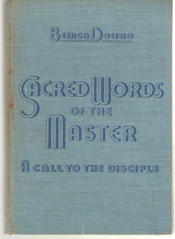Image for Sacred Words Of The Master: A Call To The Disciple Translated from the Bulgarian