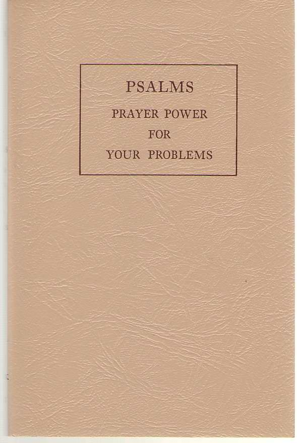 Image for Psalms Prayer Power For Your Problems