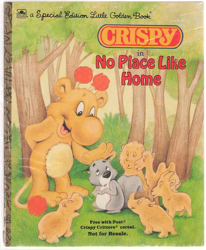 Image for Crispy In No Place Like Home Post Crispy Critters Cereal Promotion