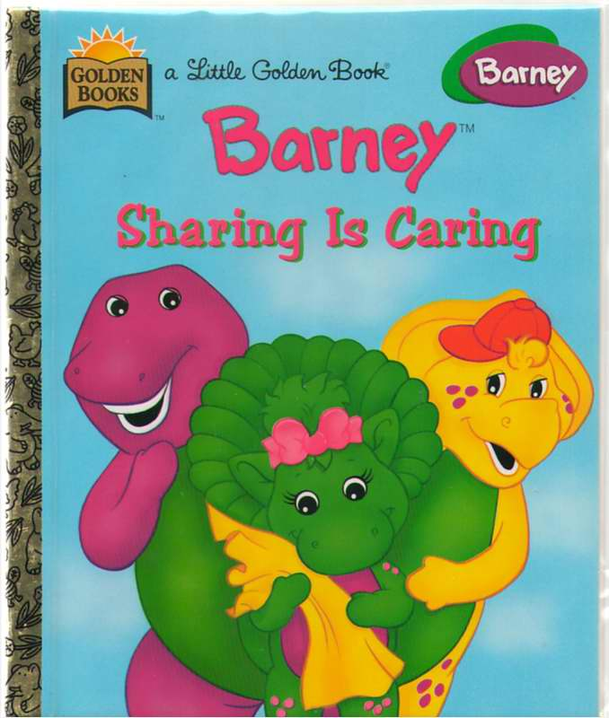 Image for Barney  Sharing is Caring