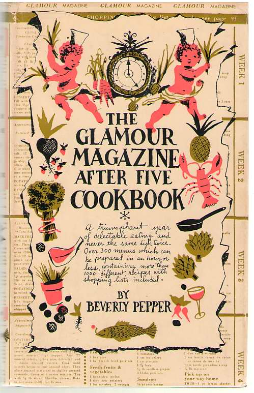 Image for The Glamour Magazine after Five Cookbook