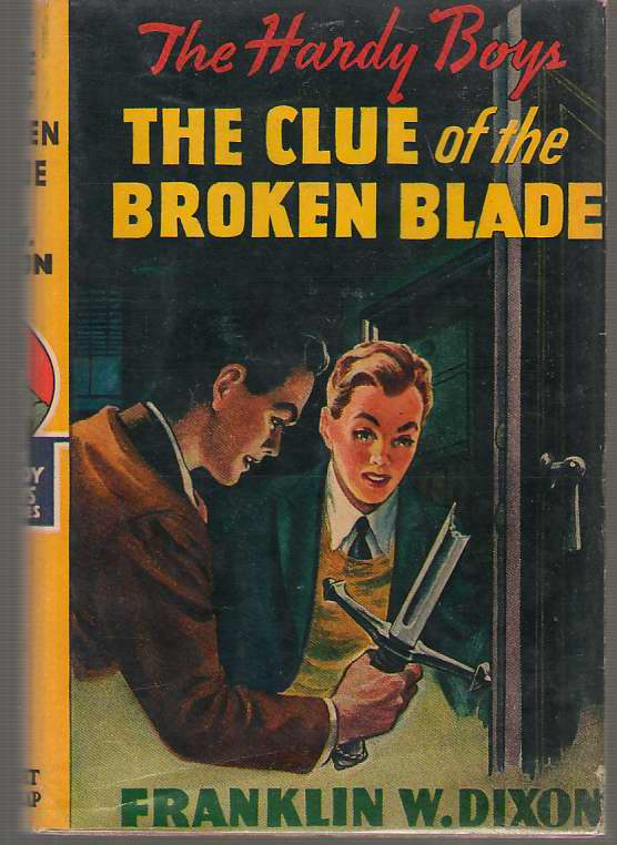 Image for The Clue Of The Broken Blade