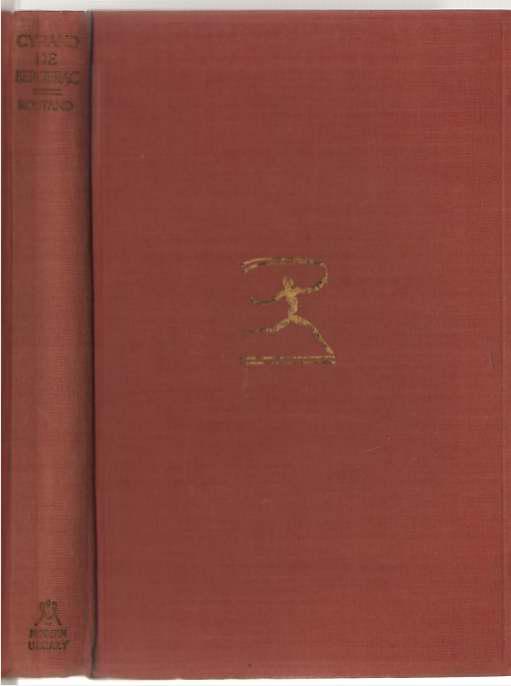 Image for Cyrano De Bergerac The Brian Hooker Translation