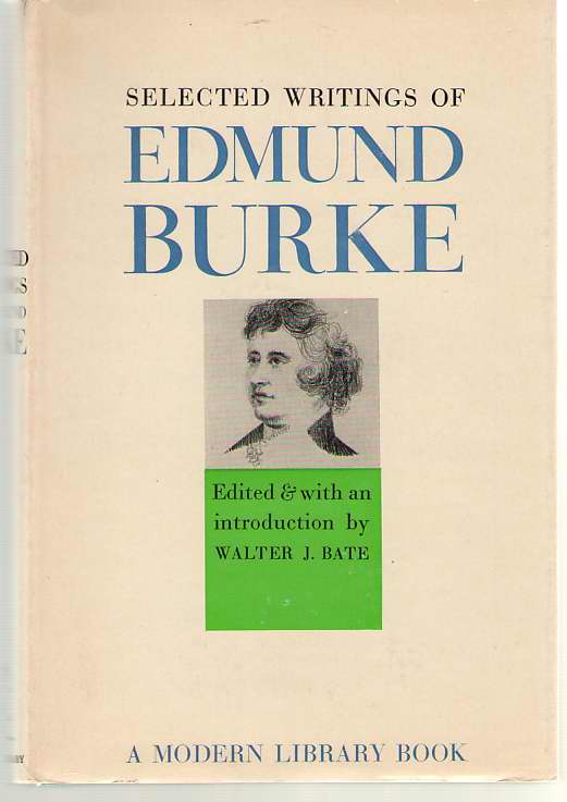Image for Selected Writings Of Edmund Burke
