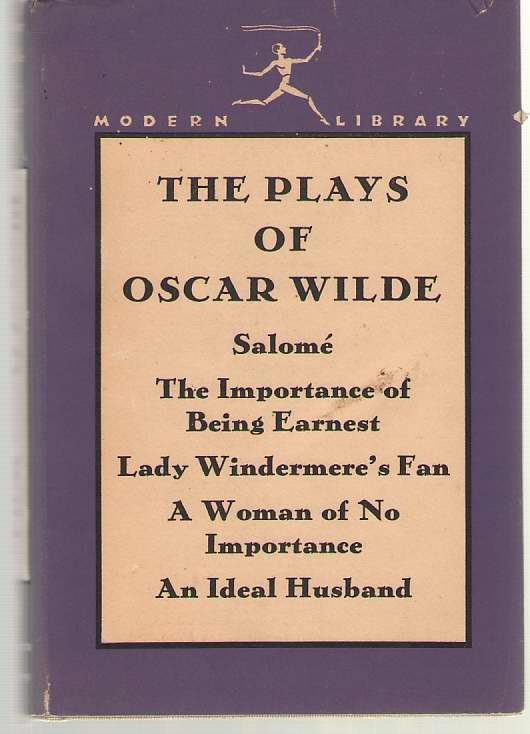 Image for The Plays of Oscar Wilde