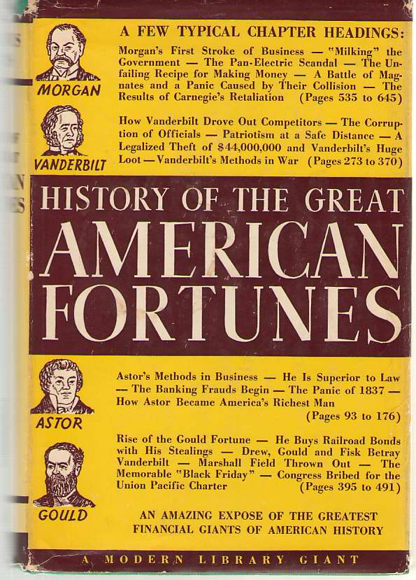 Image for History Of The Great American Fortunes