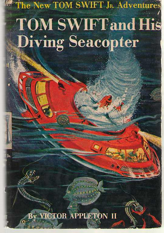 Image for Tom Swift and His Diving Seacopter