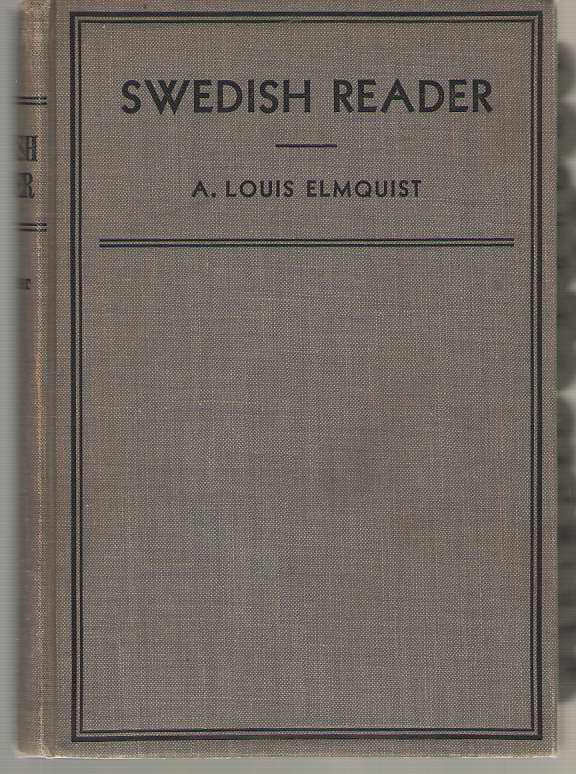 Image for Swedish Reader Notes and Vocabulary