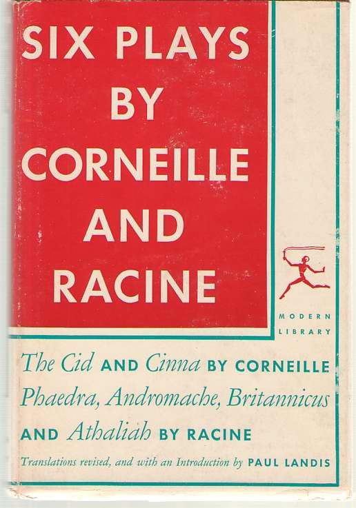 Image for Six Plays By Corneille And Racine