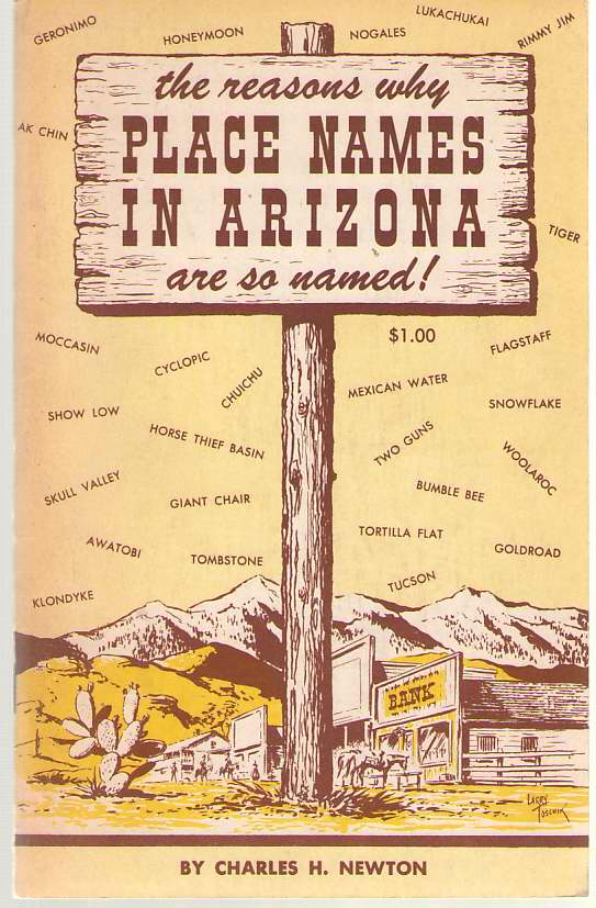 Image for The Reasons why Place Names in Arizona Are so Named