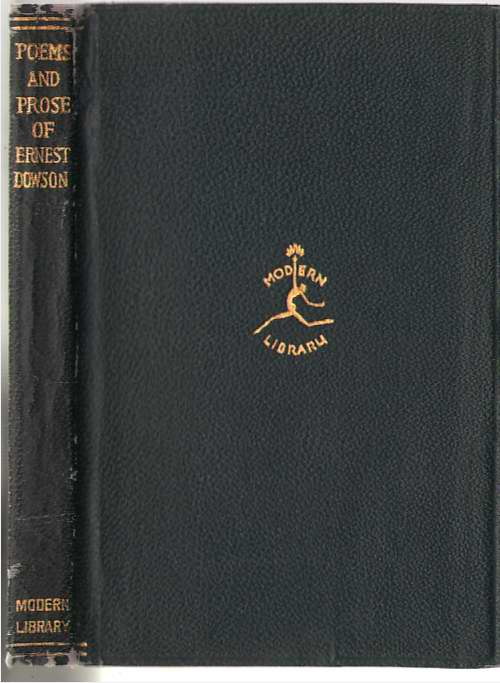 Image for The Poems And Prose Of Ernest Dowson