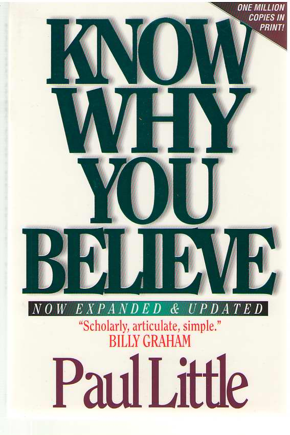 Image for Know Why You Believe