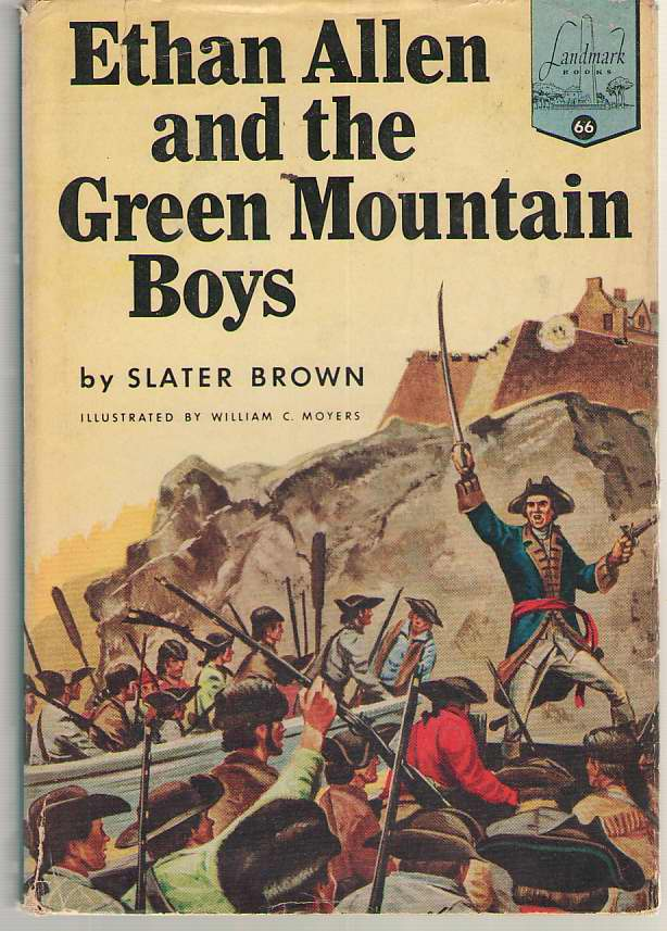 Image for Ethan Allen And The Green Mountain Boys